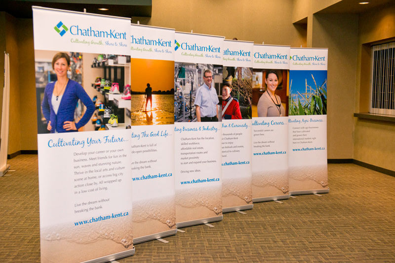 Roll Up Trade Show Displays