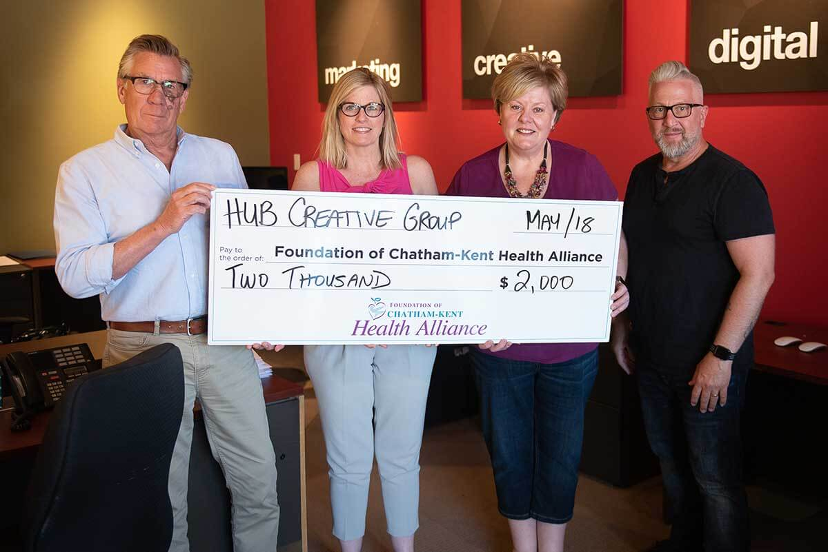 HUB Creative Proud To Support Our Future Is In Focus Diagnostic Imaging Campaign